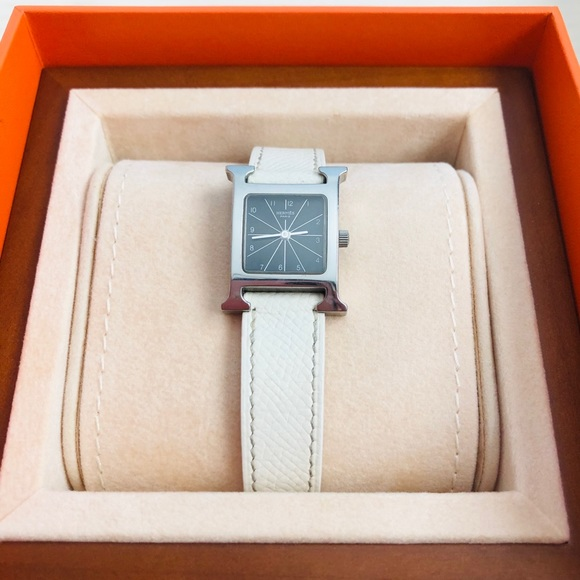 Authentic!💯Hermes H Hour small watch